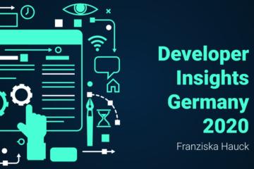 Developer Insights Germany 2020